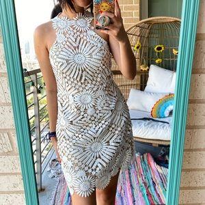 NWT Free People X Saylor Presley Mini Dress Large
